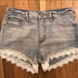 Free people jean short